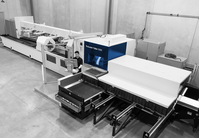 Tube Laser Cutting Machine.